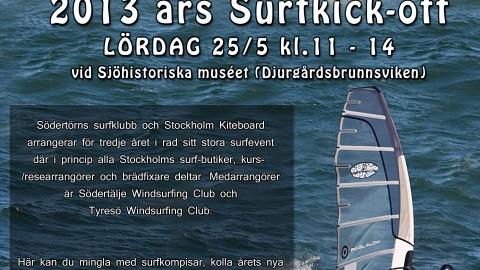 Surf-kickoff : Stockholm