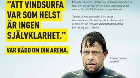 Var rädd om din arena!