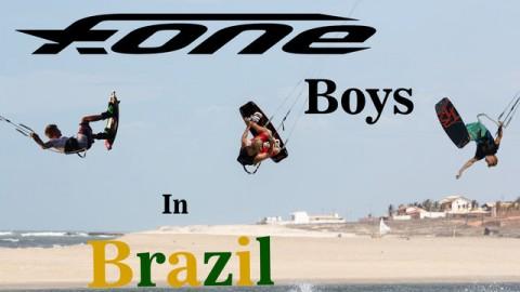 F-One boys in Brazil