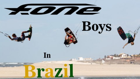 F-One boys in Brazil