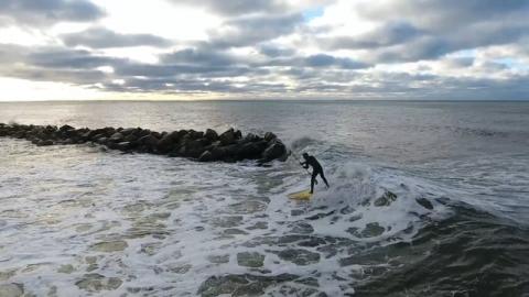 Offshore SUP på västkusten