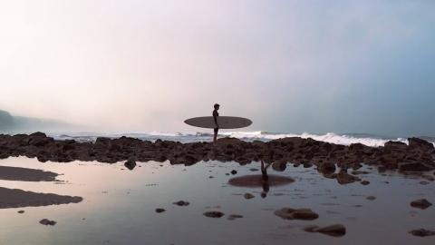 Njutbar och stylish longboard