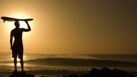 Surf på 60-talet var helt enkelt roligare