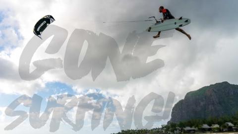Gone (kite)surfing