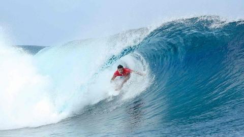 Wilson vinner på Tahiti