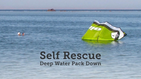Self rescue – kite