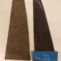 Prissänkt! Slalomfena 47cm, Deep tuttle, 100% Carbon, Produced by Per Boström