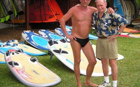 Det alte Schwede and Jim Drake