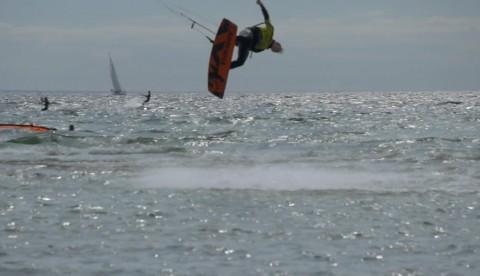 Film från första deltävlingen av Sweden Kite Freestyle Tour