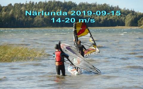2019-09-15 Närlunda 14-20 mps